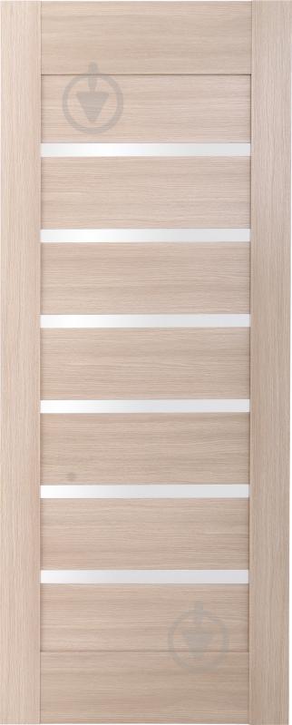 Дверне полотно ОМіС Лагуна ПО 800 мм дуб лате - фото 1