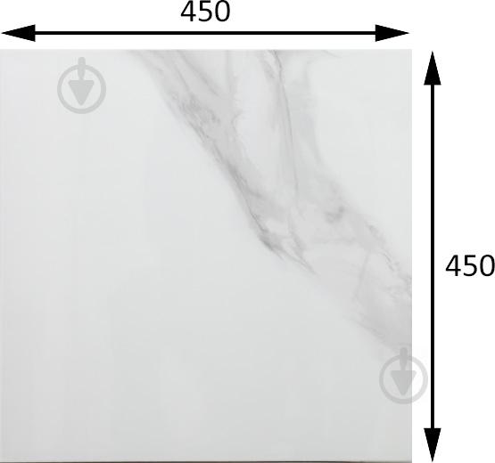 Плитка Атем Calacatta GR 45x45 - фото 5