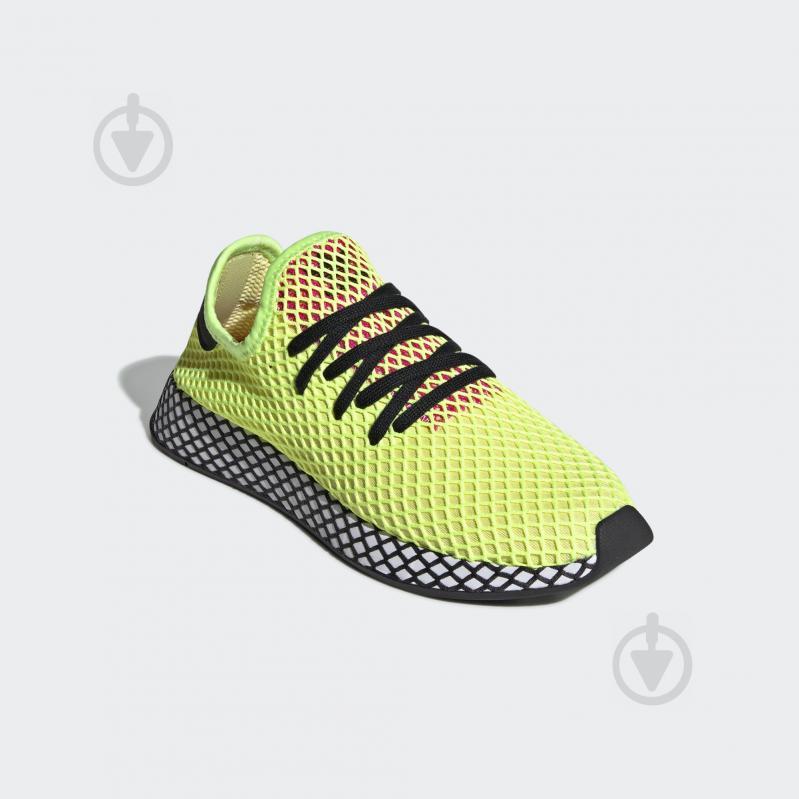 1c6ff1b4c8000c ᐉ Кросівки Adidas DEERUPT RUNNER CG5943 р.8 салатовий • Краща ціна ...