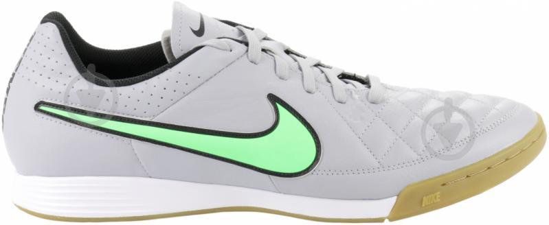 Бутсы Nike Tiempo Genio Leather IC 631283-030 10,5 серый - фото 3