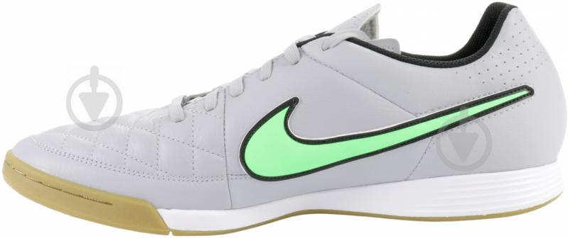 Бутсы Nike Tiempo Genio Leather IC 631283-030 10,5 серый - фото 4