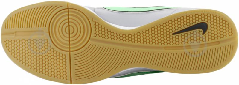Бутсы Nike Tiempo Genio Leather IC 631283-030 10,5 серый - фото 6