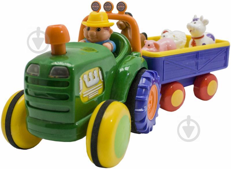 Трактор Kiddieland с прицепом 49726 - фото 1