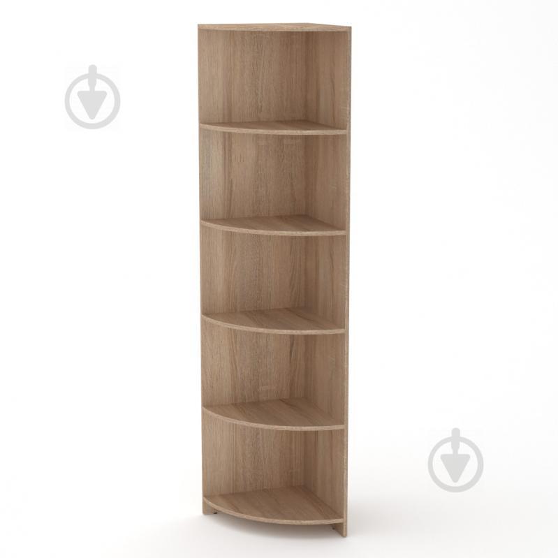 Книжкова шафа Компаніт Пенал-1 дуб сонома