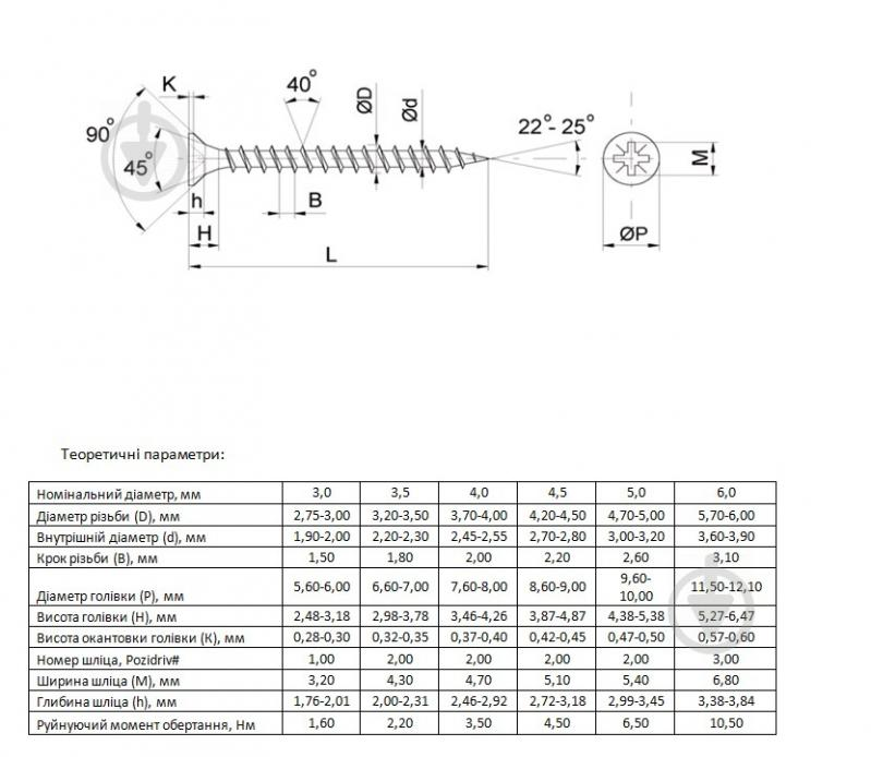 Шуруп универсальный потайная головка ЦЖ 4,5x50 мм желтый цинк вес Expert Fix - фото 3