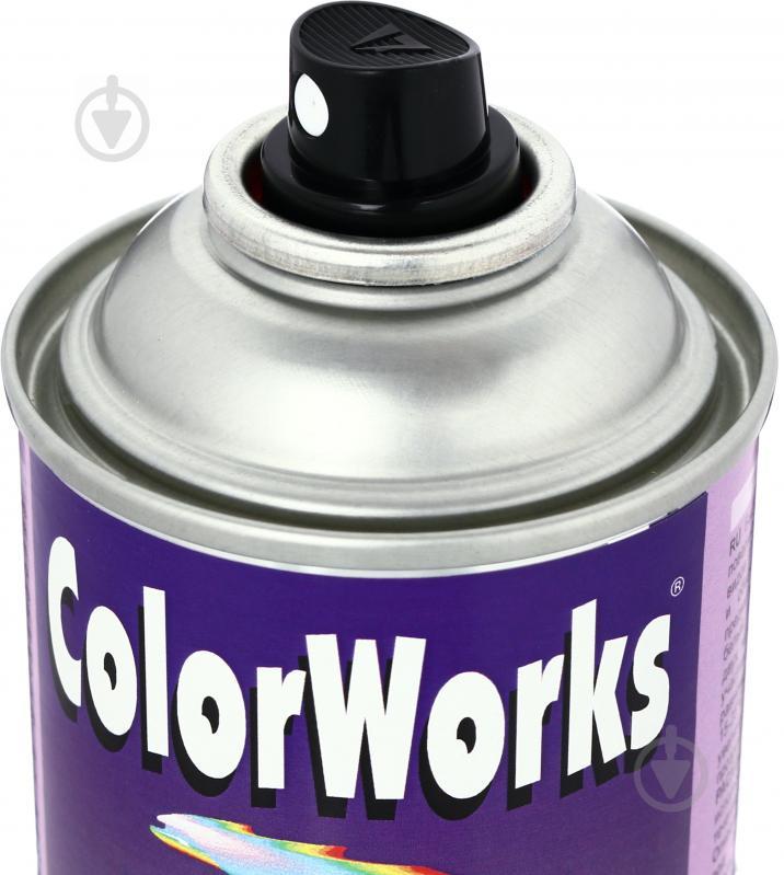 Эмаль аэрозольная Metallic ColorWorks синий 400 мл - фото 2