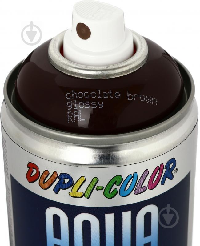 Фарба аерозольна Aqua Ral 8017 Motip шоколадно-коричневий 350 мл - фото 2