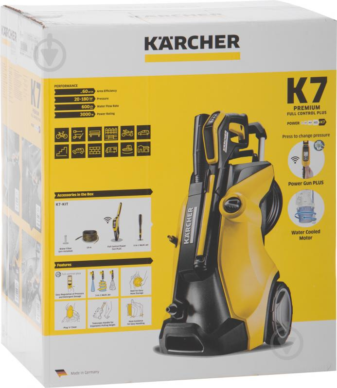 Міні-мийка Karcher K 7 Premium Full Control Plus 1.317-139.0 - фото 7