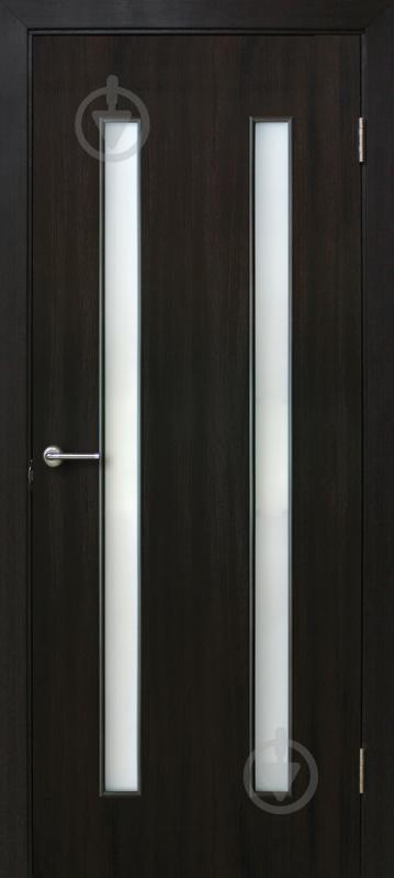 Дверне полотно ОМіС Вероніка ПО 800 мм венге - фото 1