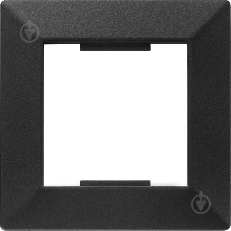 Рамка HausMark Alta универсальная черный SNG-FRP.SQ20G1-BK - фото 1