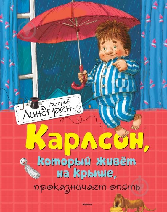 Малыш который живет на крыше книга