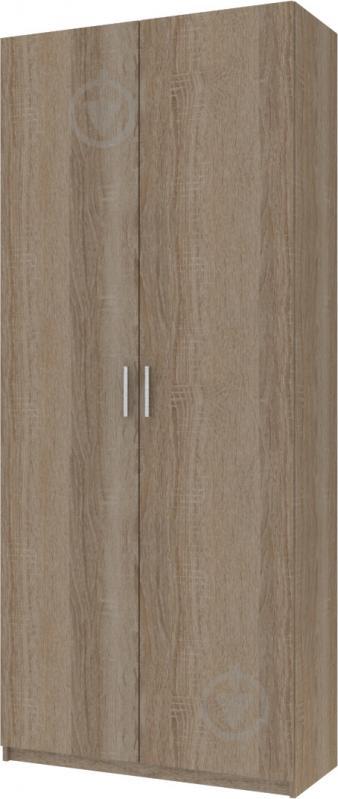 Шкаф гардеробный Doros 2100x900x380 мм вариант 2 трюфель