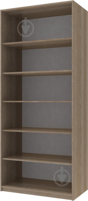 Шкаф гардеробный Doros 2100x900x520 мм вариант 3 трюфель