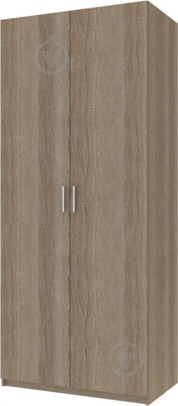 Шкаф гардеробный Doros 2100x900x520 мм вариант 4 трюфель