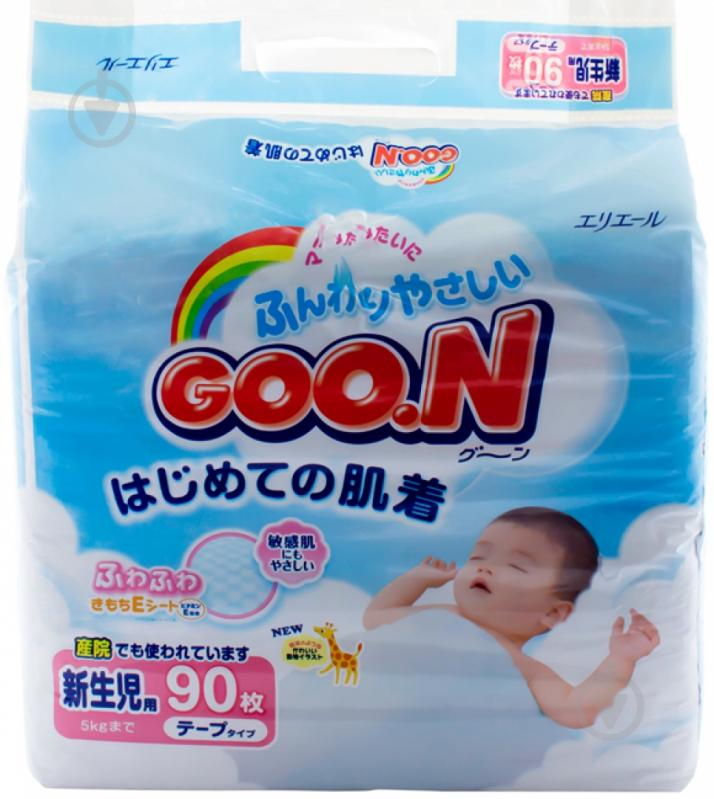 Goo.N Diapers NB   90 pcs - купить подгузники  цены, отзывы ... 9e22539dcf0