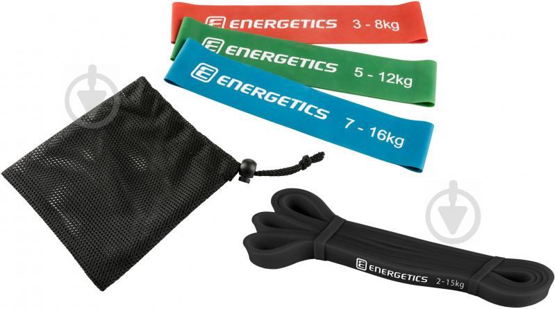Лента для фитнеса Energetics Bands Set 4 шт. 270694 - фото 1