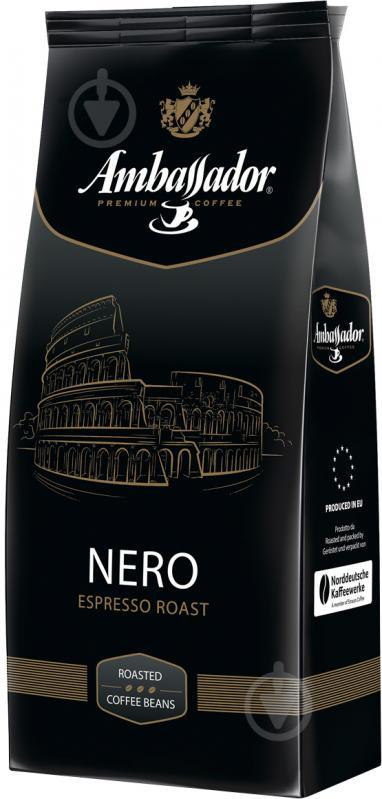 Кофе в зернах Ambassador Nero 1 кг (4051146000962) - фото 1