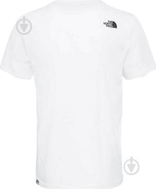 Футболка THE NORTH FACE M S/S Woodcut Dome Tee р. XL белый T0A3G1LA9 - фото 4