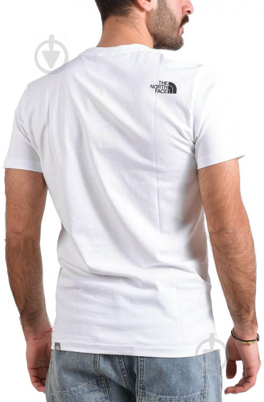Футболка THE NORTH FACE M S/S Woodcut Dome Tee р. XL белый T0A3G1LA9 - фото 2
