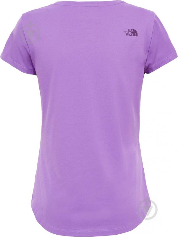 Футболка THE NORTH FACE W Tansa Tee #2 р. XS фиолетовый T92S7GPKC - фото 6