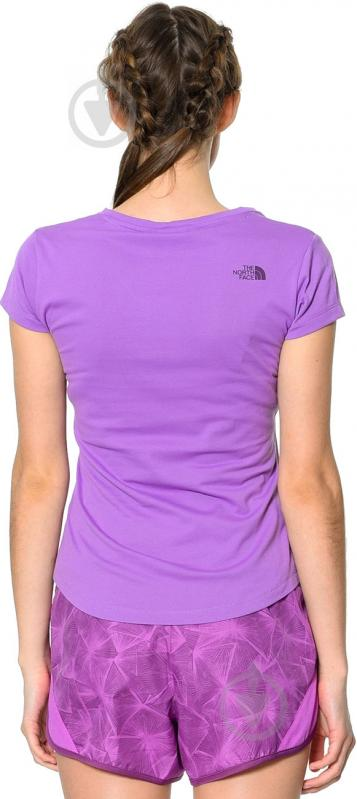 Футболка THE NORTH FACE W Tansa Tee #2 р. XS фиолетовый T92S7GPKC - фото 3