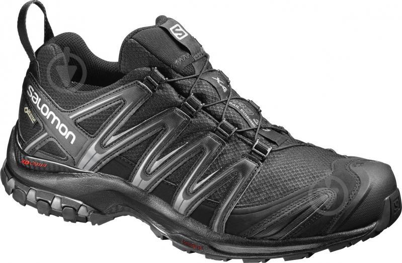 Кроссовки Salomon XA PRO 3D GTX L39332200 р. 9 черный - фото 1