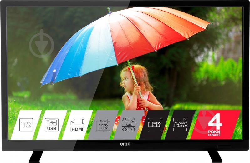 Телевизор Ergo LE24CT5000AK - фото 1
