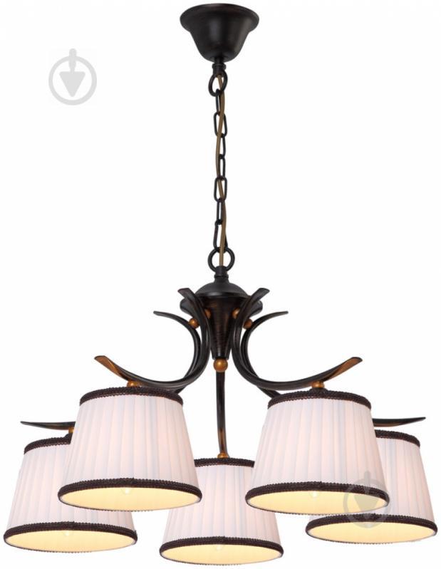 Люстра підвісна Arte Lamp IRENE 5xE14 темно-коричневий A5133LM-5BR