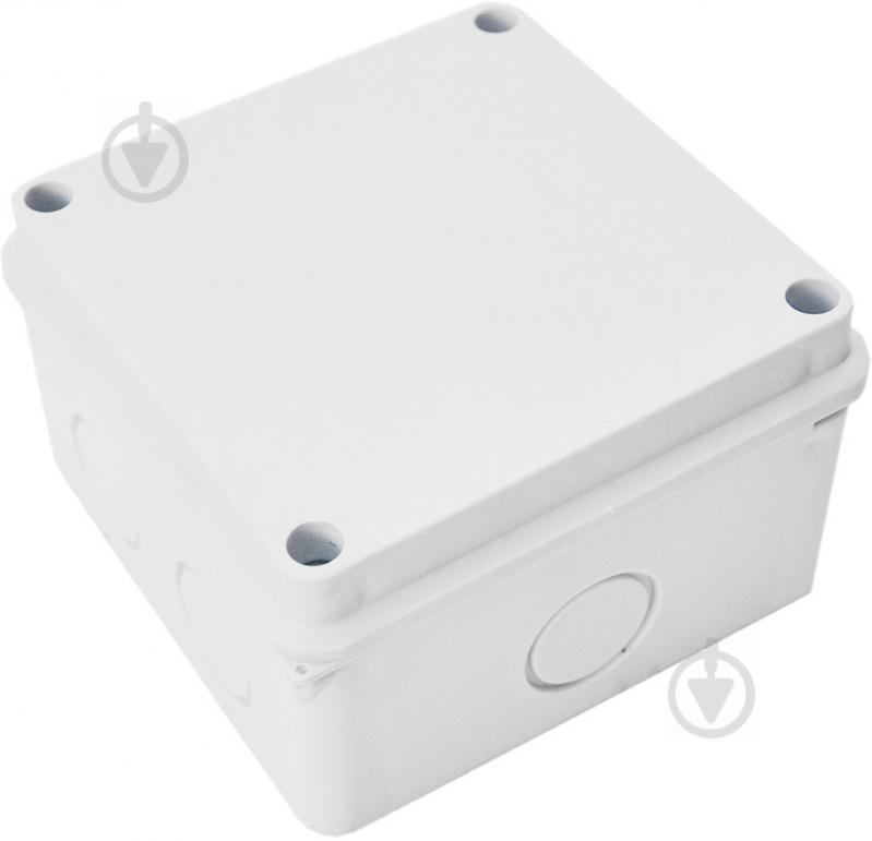 Коробка распределительная Контакт с сальником 110x110 ABS-пластик 1100