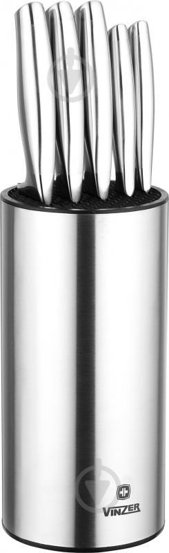 Набір ножів на підставці Frost 6 предметів 89126 Vinzer - фото 1