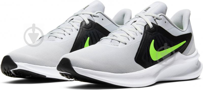 Кросівки Nike DOWNSHIFTER 10 CI9981-005 р.US 10,5 сірий