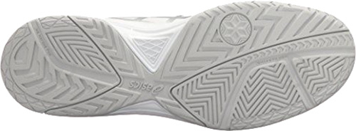 Кроссовки Asics GEL-DEDICATE 5 E707Y-0193 р. 8,5 бело-серебряный - фото 3