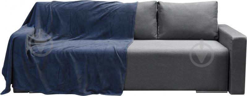 Плед Орион 160x200 см синий UP! (Underprice) - фото 1