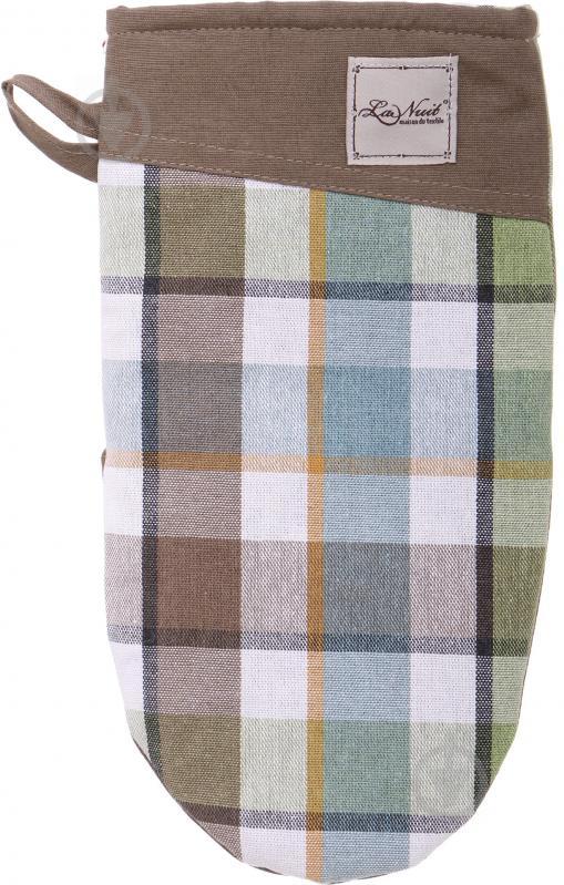 Прихватка-рукавиця Scotland Green 15x29 см зелений La Nuit - фото 1