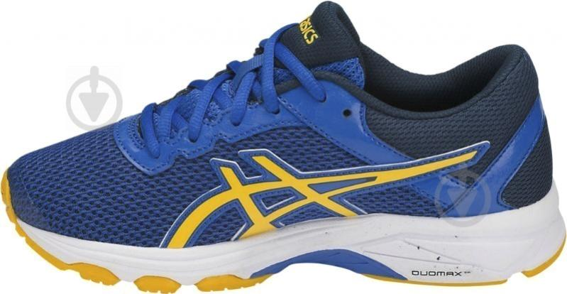 Кроссовки Asics GT-1000 6 GS C740N-4504 р. 1,5 сине-желто-темно-синий - фото 3