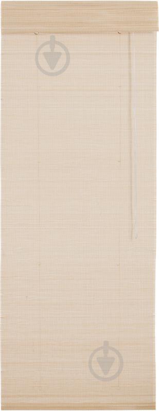 Римська штора Bella Vita Бамбук рогожка 120x160 см натуральний