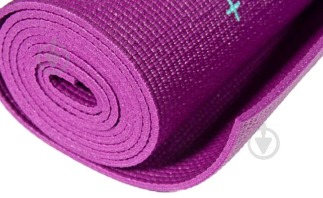 Коврик Reebok Crosses-Hi 1730х610х4 мм фиолетовый - фото 3