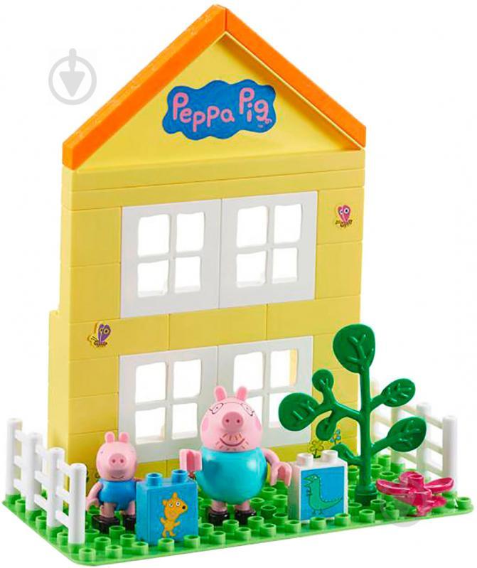 Конструктор Peppa Загородный дом Пеппы 6038 - фото 1