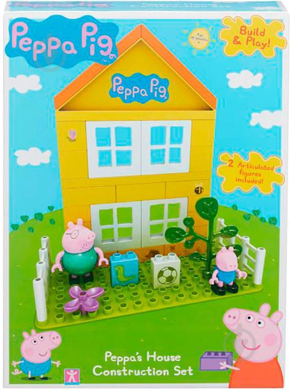 Конструктор Peppa Pig Загородный дом Пеппы 6038 - фото 3