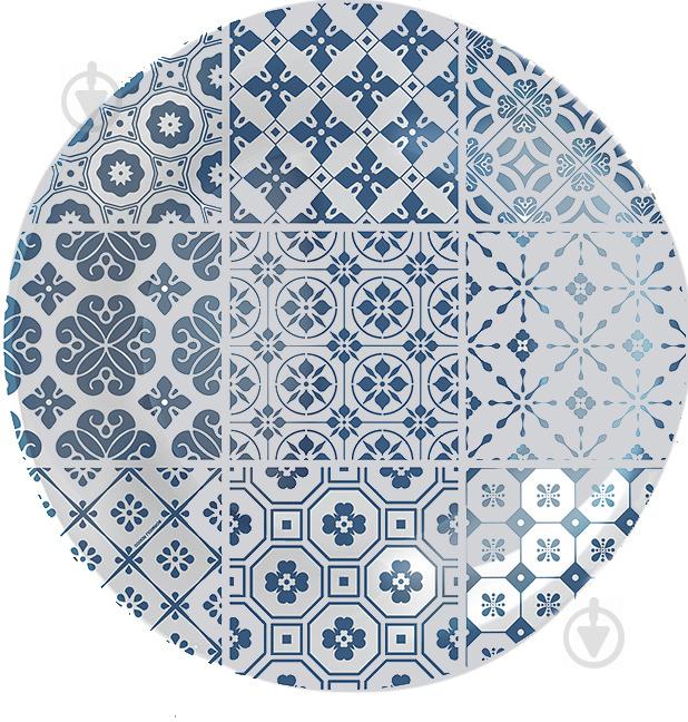 Тарілка підставна Vietri blue 27 см Bormioli Rocco - фото 1