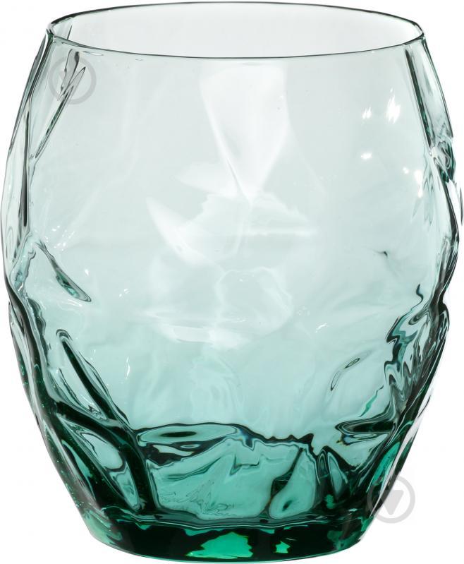 Набор стаканов Prezioso Green 500 мл Luigi Bormioli - фото 1