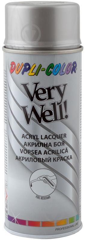 Емаль аерозольна Dupli-Color Very Well RAL 9006 біло-алюмінієвий глянець 400 мл - фото 1