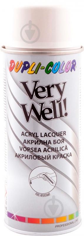 Емаль аерозольна Dupli-Color Very Well RAL 9002 сіро-білий глянець 400 мл - фото 1