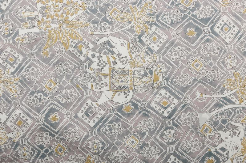 Комплект постільної білизни Jasmine 6 сімейний сірий Granfoulard - фото 2 435b73e72c1fa