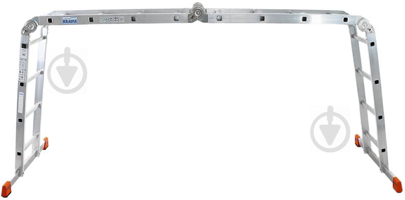 Шарнірна драбина-стрем'янка Krause Multi Matic 4x4 (120649) - фото 3