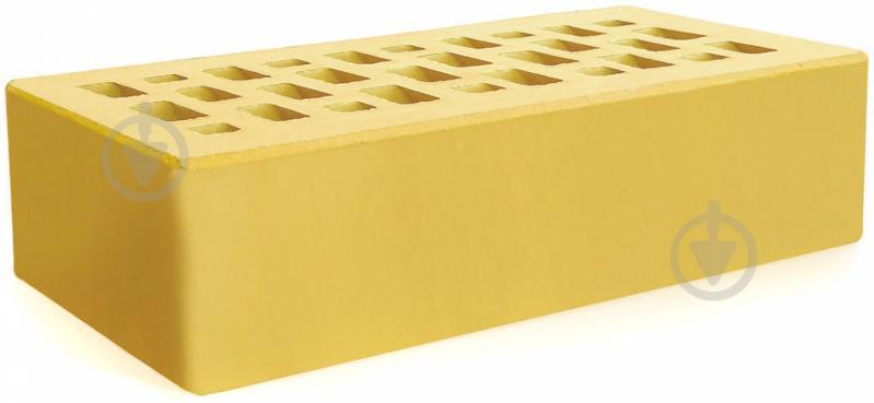 Цегла керамічна Євротон жовтий - фото 1