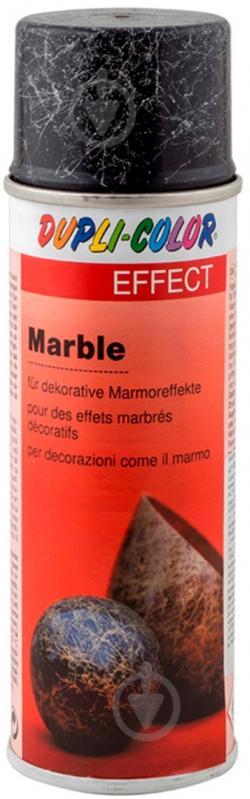 Емаль аерозольна Dupli-Color Effect marble срібний мармур напівглянець 200 мл - фото 1