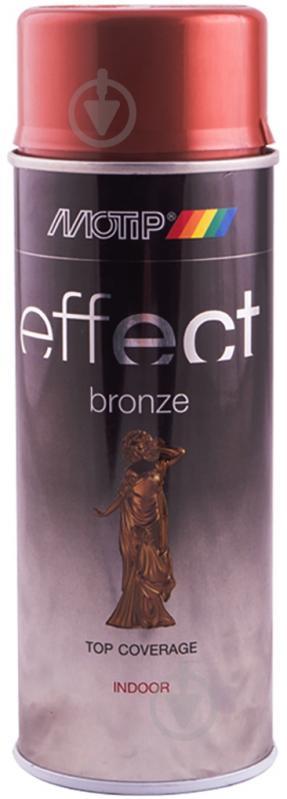 Краска аэрозольная Motip Deco Effect с эффектом бронзы медь 400 мл - фото 1