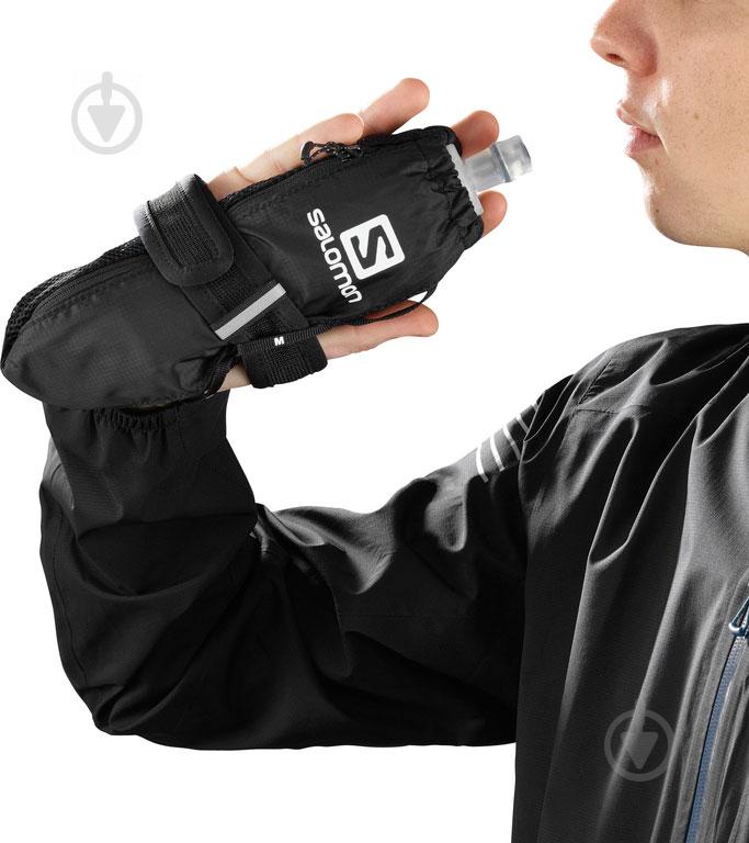 Держатель для фляги на руку Salomon L40154900 черный - фото 2