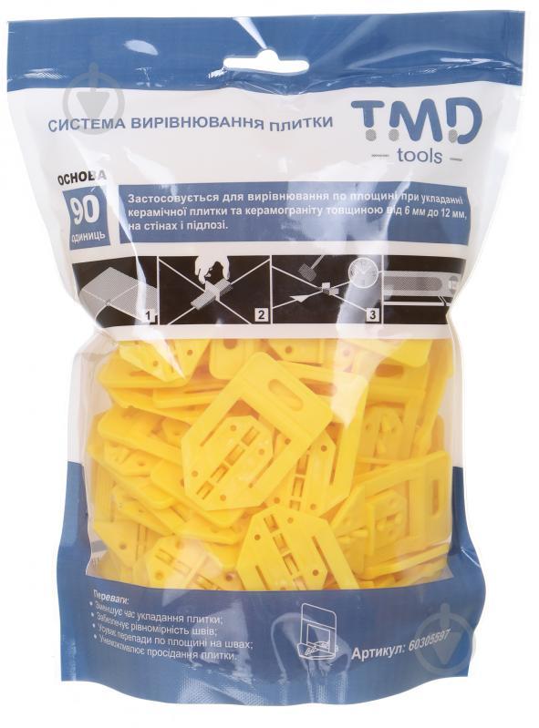 Система вирівнювання плитки TMD основа 90 шт./уп - фото 1